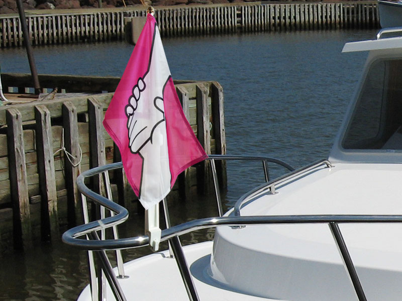 """12""""x18"""" Boat Flags"""